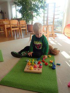 drinnen sein - Montessoriarbeit