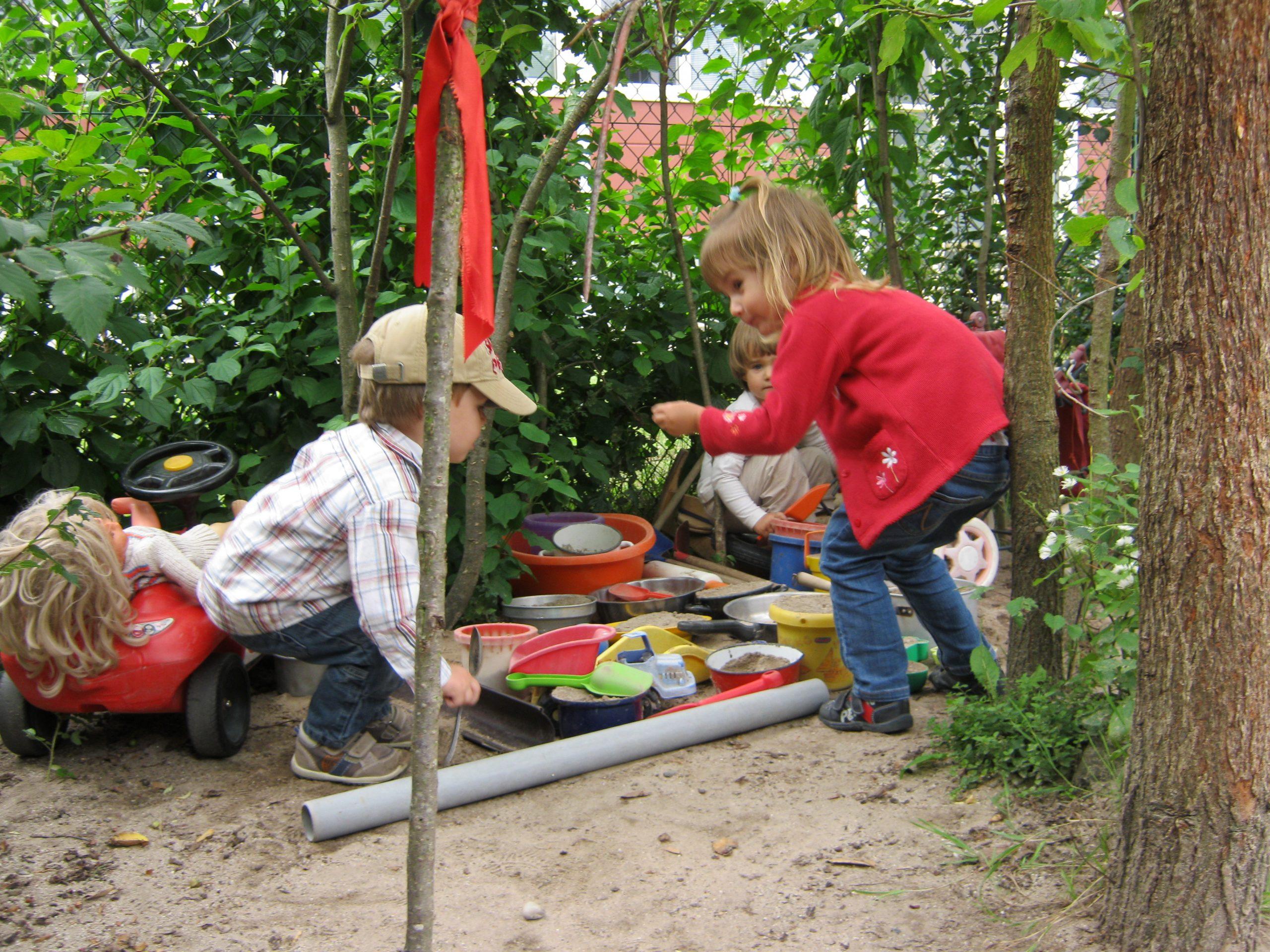 Wie arbeitet die Kinderinsel